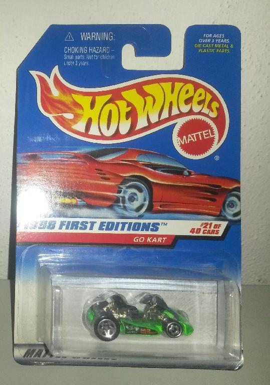 1998 first edition hot wheels go kart 21 of 40 ebay. Black Bedroom Furniture Sets. Home Design Ideas